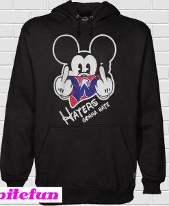 Washington Capitals Mickey haters gonna hate Hoodie