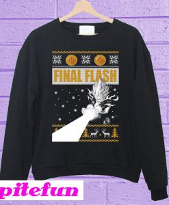 Vegeta Final Flash Christmas Sweatshirt