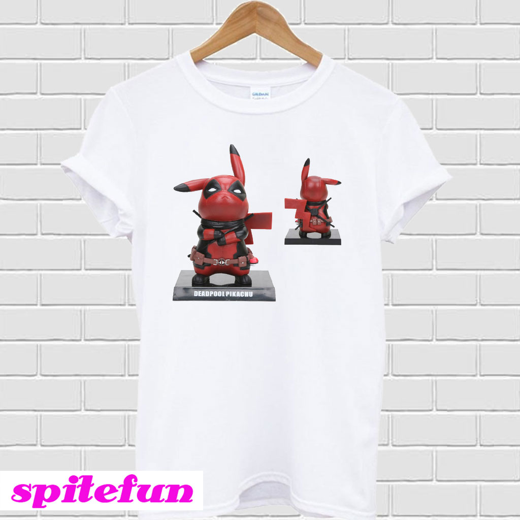 a857d304c Deadpool Pikachu T-shirt