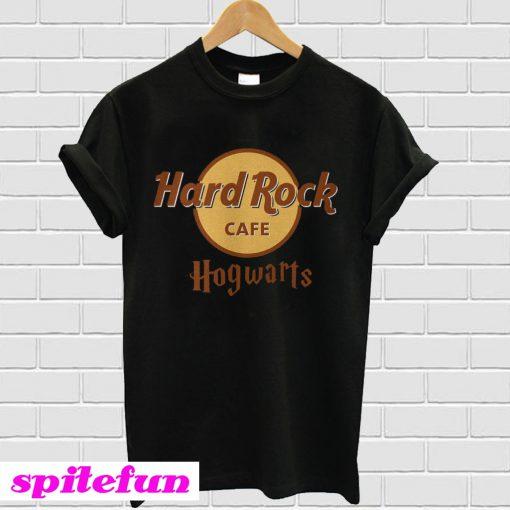 Harry Potter hard Rock cafe Hogwarts T-shirt