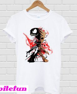 Venom Groot we are Veroot T-shirt