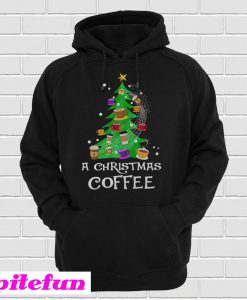 A Christmas Coffee Christmas Tree Hoodie