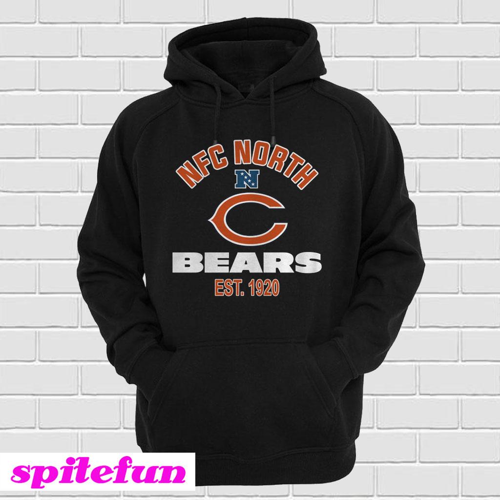 bfb74cae6 Chicago Bears NFC North Champions 2018 Hoodie