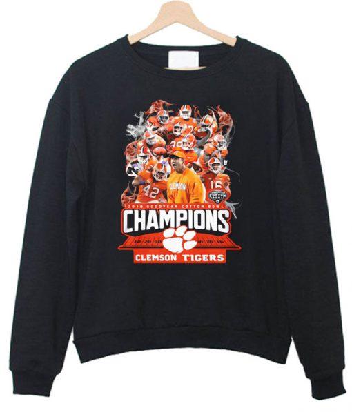 2019 doffer cotton bowl champions clemson tigers football Sweatshirt