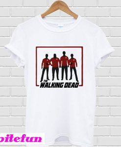 The Walking dead Star trek T-Shirt