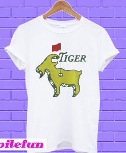 Tiger goat masters tiger woods good at golf Guys T-shirt