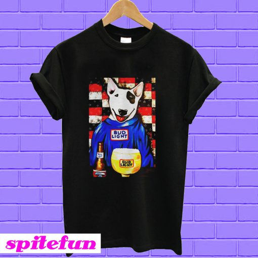 Spuds Mackenzie Bud Light Bar 2 T-shirt