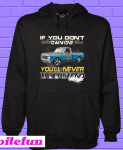 Truck if you don't own one you'll never understand Hoodie