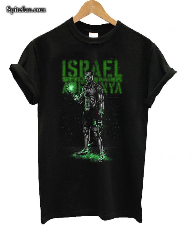 UFC Israel Adesanya The Last Style Bender Neon T,Shirt