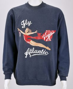 Fly Virgin Atlantic Princess Diana Sweatshirt