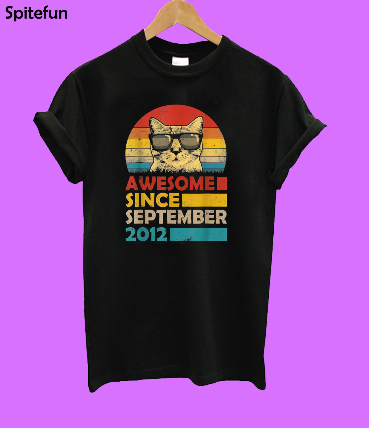 Awesome Since September 2012 T-shirt