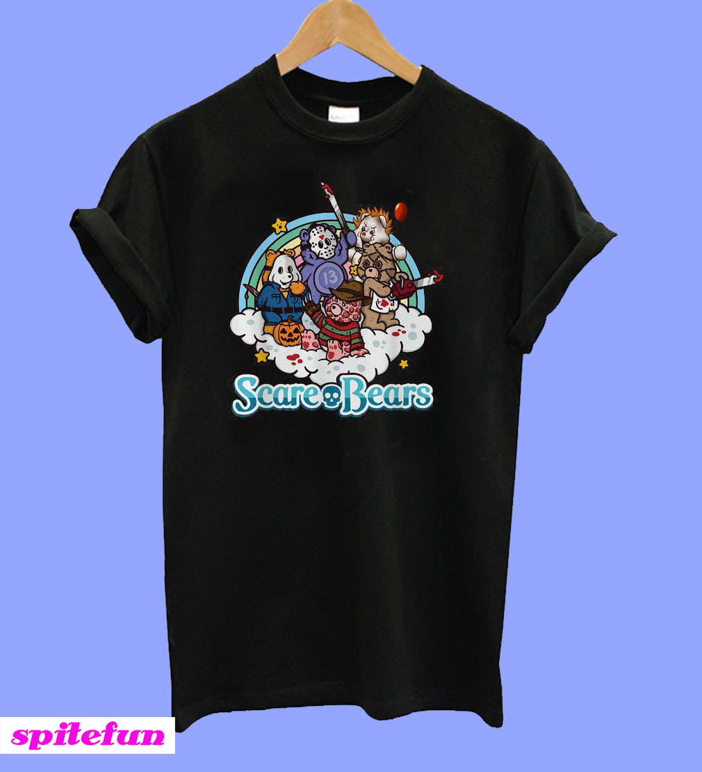 Horror characters Scare Bears T-Shirt
