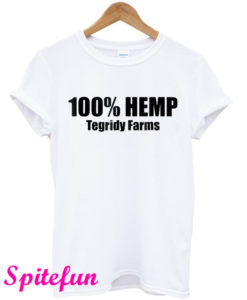 100% Hemp Tegridy Farms T-Shirt