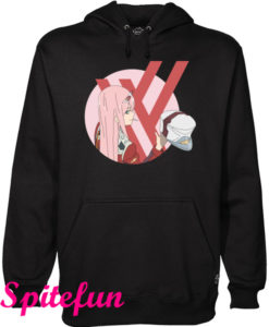 Zero Two From Darling In The Franxx Hoodie