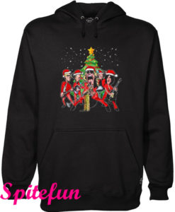 Aerosmith Band Merry Christmas Hoodie