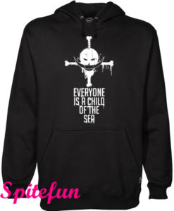 Whitebeard Everyone Is a Child of The Sea Hoodie