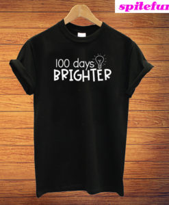 100 Days Brighter Trending T-Shirt