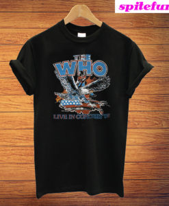 The Who 1982 Farewell Concert Tour T-Shirt
