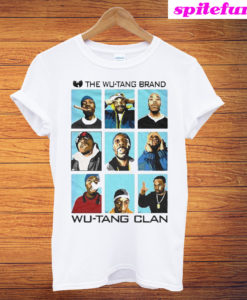 The Wu-tang Clan Faces T-Shirt