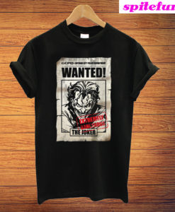 The Joker 'Wanted Poster' T-Shirt
