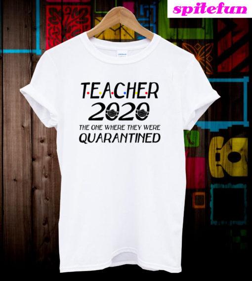 Class Of 2020 Graduation Teacher Funny T-Shirt