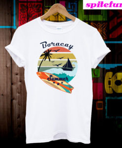Vintage Boracay Summer Vacation T-Shirt