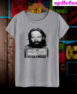 Willie Nelson Mugshot T-Shirt