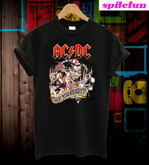 ACDC Are You Ready T-Shirt