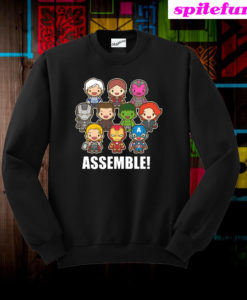 Avengers Assemble Cute Sweatshirt