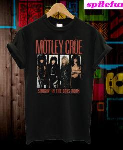 Motley Crue Smokin' In The Boys Room T-Shirt